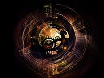 Digital Life of Clockwork Stock Photography