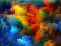 Digital Life of Colors Royalty Free Stock Photography