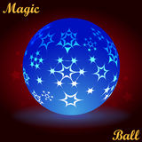 Digital Light Ball Stock Photography
