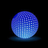 Digital Light Ball Stock Photo