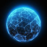 Digital Light Ball Royalty Free Stock Photography
