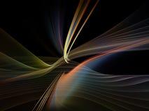 Digital Light Waves Royalty Free Stock Photo