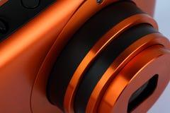 digital lins för kameracloseup Fotografering för Bildbyråer