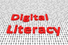 Digital literacy Royalty Free Stock Images