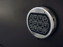 Digital lock. The digital number lock of a safety box Royalty Free Stock Image