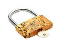 Digital lock Royalty Free Stock Image