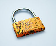 Digital lock Royalty Free Stock Photo