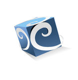 Digital logo. Concept has been created as vector Royalty Free Stock Image