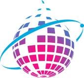 Digital logo. Concept has been created as vector Stock Photo