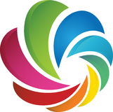 Digital logo. Concept has been created as vector Stock Images