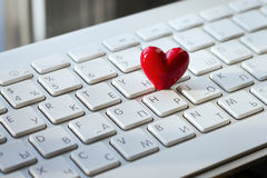 Digital love Stock Photography