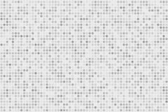 Digital lutningbakgrund för PIXEL Abstrakt ljus - blå teknologimodell Prickig bakgrund med cirklar, prickar, pekar den lilla skal Royaltyfri Bild