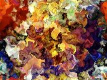 digital målarfärgtextur för bakgrund Royaltyfri Foto