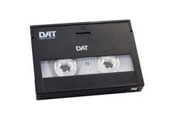 Digital-Magnetband für Tonaufzeichnungen DAT mit dem Pfad eingeschlossen. Lizenzfreie Stockbilder
