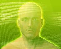 Digital Man Stock Photo