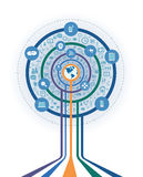 Digital-Marketing Lizenzfreies Stockbild