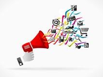 Digital-Marketing Stockbilder