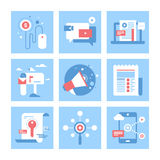 Digital-Marketing Stockfotografie