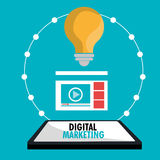 Digital marketing and advertising Stock Photography