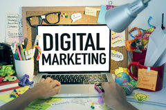 Digital Marketing royalty free stock images