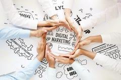 Digital marketing royalty free stock photography
