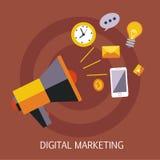 Digital Marketing Concept Art Stock Images