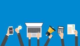 Digital marketing concept Stock Image