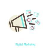 Digital marketing concept Stock Images