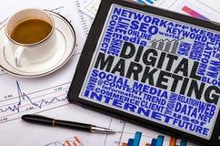 Digital marketing concept Stock Photography