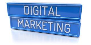Digital Marketing - 3D Render Stock Photo