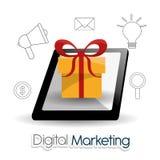Digital-Marketing-Design Lizenzfreies Stockfoto