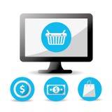 Digital-Marketing-Design Stockfotos