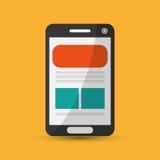 Digital Marketing design.Communication and ecommerce. Colorful i. Digital Marketing  concept with icon design,  illustration 10 eps graphic Royalty Free Stock Images