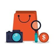 Digital marketing design Royalty Free Stock Image