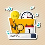 Digital marketing design. technology icon. multimedia concept. Digital marketing  concept with icon design, vector illustration 10 eps graphic Royalty Free Stock Photography