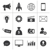 Digital marketing icon Royalty Free Stock Image