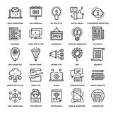 Digital Marketing Icons Royalty Free Stock Photo