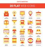 Digital Marketing Icons Stock Photos