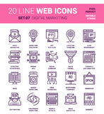 Digital Marketing Icons vector illustration