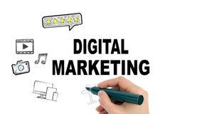 Digital marketing internet and social media concept