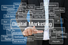 Digital-Marketing-Konzept stockbild