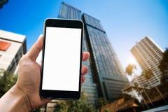 Digital marketing media smartphone royalty free stock image