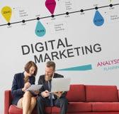 Digital Marketing Modern Technology Concept Royalty Free Stock Photos