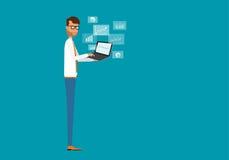 Digital marketing online concept Stock Image