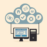 Digital marketing Royalty Free Stock Image