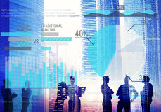 Digital Marketing Planning Strategy Growth Success Concept Stock Image