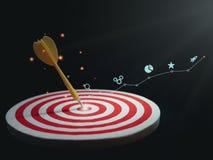 Digital marketing SEO photo concept idea with infographic