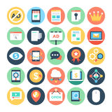 Digital Marketing Vector Icons 2 Stock Images