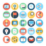 Digital Marketing Vector Icons 3. Update your business profile or create awesome marketing materials with this trendy Digital Marketing Vector Icons Pack Royalty Free Stock Images