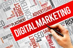 Digital Marketing Stock Images